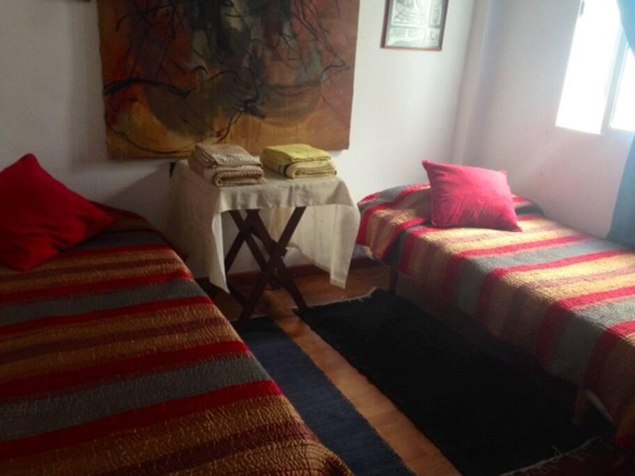 2 camas