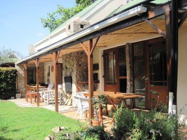 Matshana Lodge - African Room - Onrus