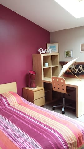 3  Chambres contemporaines types PARIS
