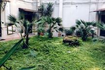 Giardino interno palazzo
