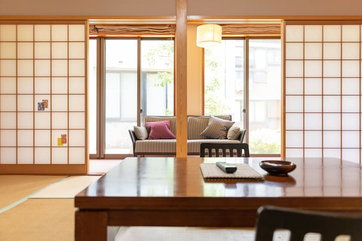 Private guest room for 4 @ Onsen Ryokan   Momo