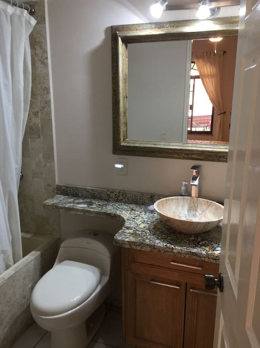 Newly renovated ensuite