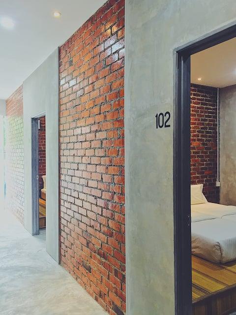 36 Apartment, Bukit Siput with Industrial design