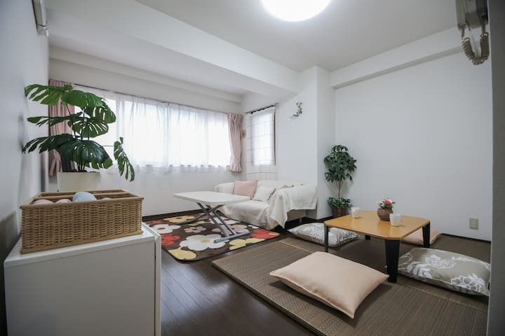 Junko Residence+2 minutes from the Sta.+Free Wifi