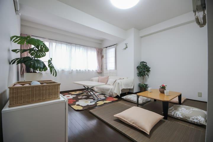 Junko Residence+2 minutes from the Sta.+Free Wifi - Edogawa-ku - Byt