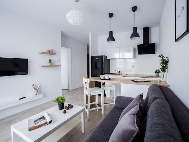 Emihouse Apartament z balkonem w centrum Rzeszowa