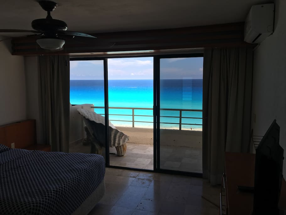 Private bedroom ocean view