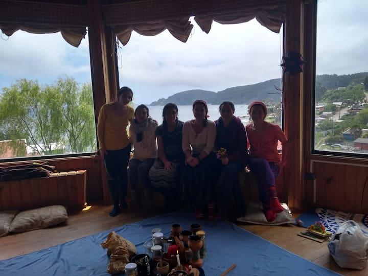 Casa Vista panoramica en Cocholgue