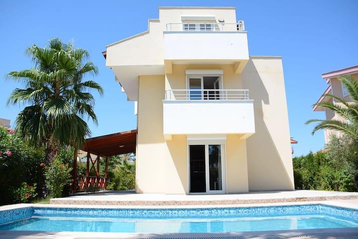 Super Private Detached villa in Belek 22
