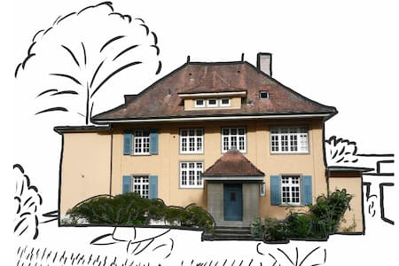 Lovely Bedroom with Dedicated Bath - Bottmingen - Villa