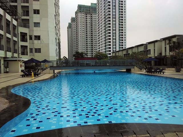 1 BR /Thamrin City / Cosmo Mansion Apartment