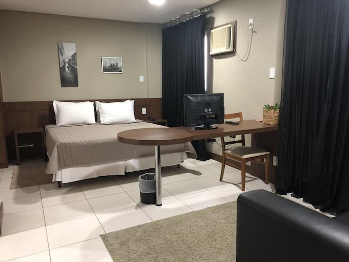 Conforto de hotel por um preço familiar
