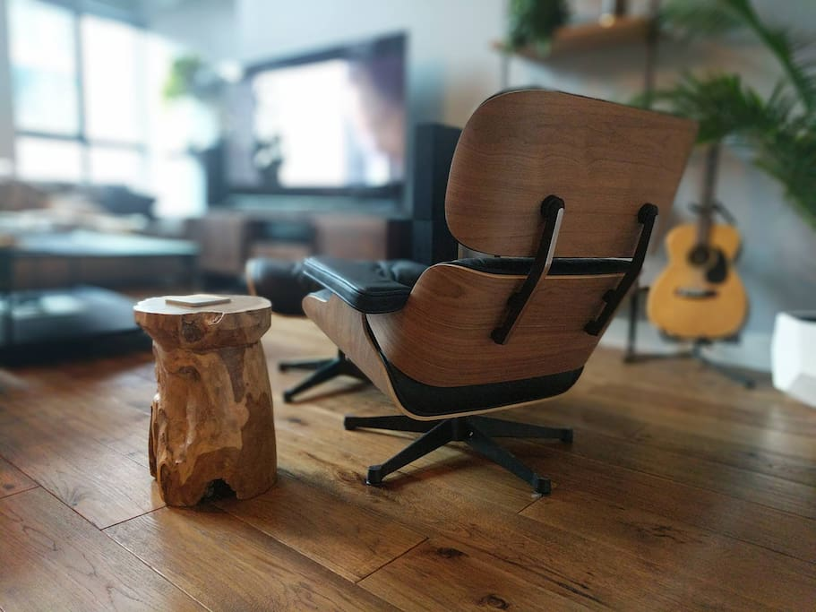 Relax in the Famous 'Eames Chair'