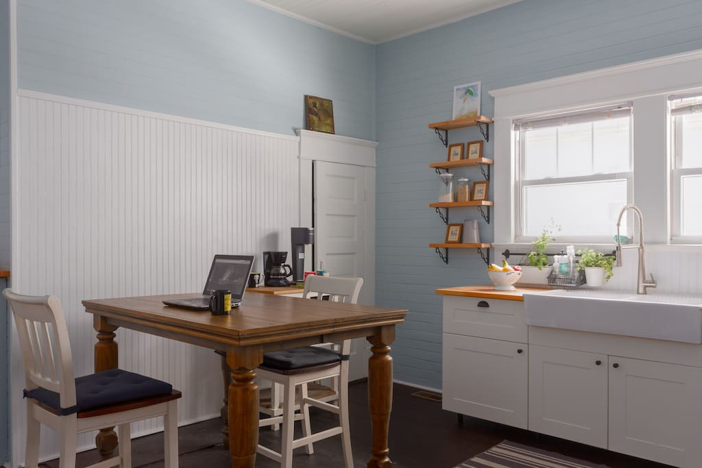 My favorite room - the kitchen! You are welcome to use it!