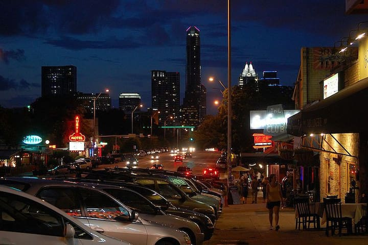 ATX living on S. Congress Ave
