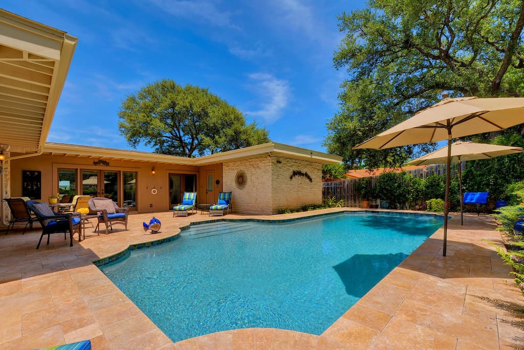 Texas Lake Rentals With Pools Bing Images