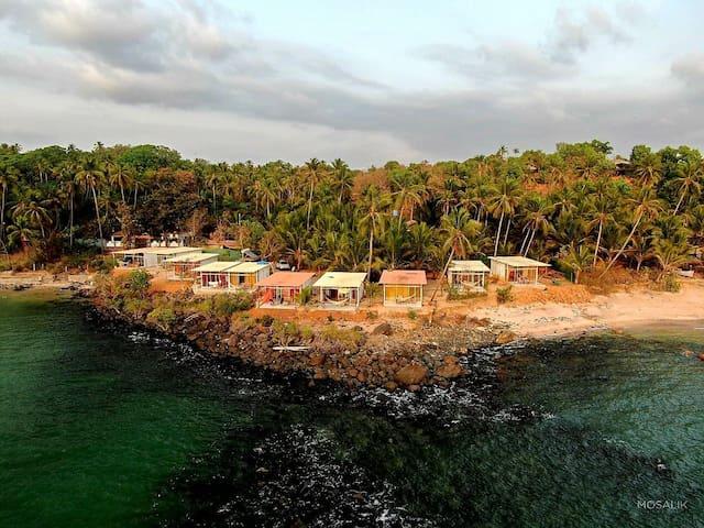 NEW  Abidal Resort, Colomb bay, Patnem beach #1