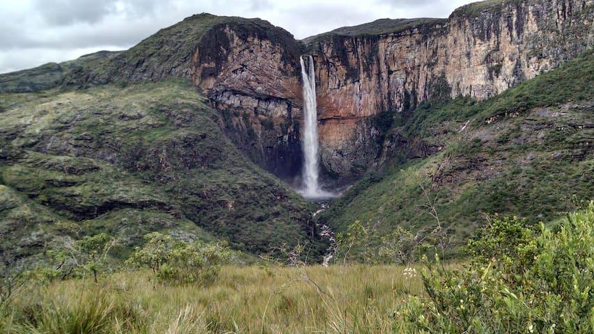 Pousada Holística Gameleira - Cachoeira Tabuleiro.