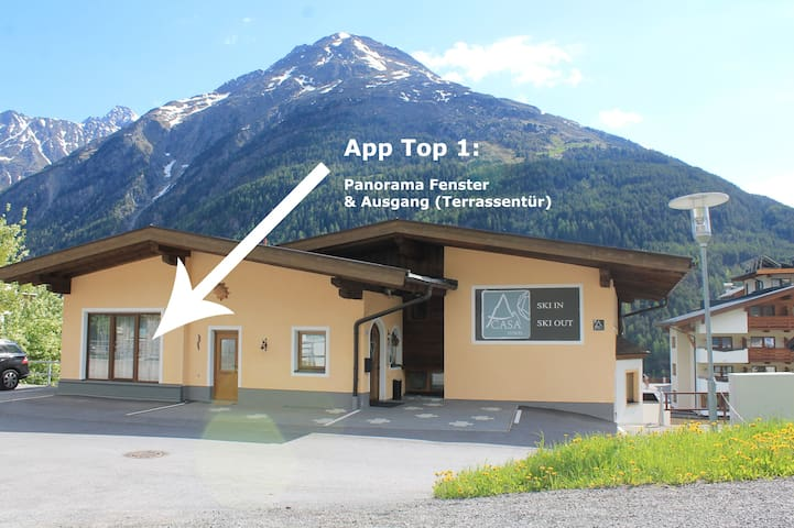 Top 1 - holidays beside the skislopes (free wifi)