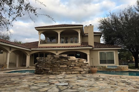 Luxury Vacation Home - New Braunfels - Ev