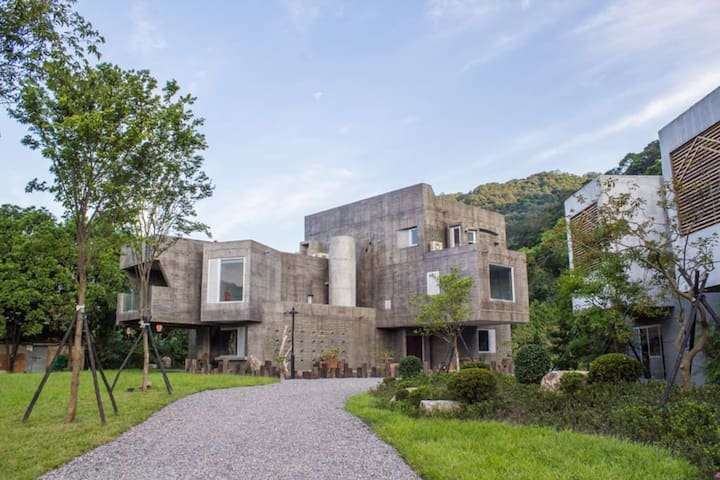 Double Room - Fine dining & art collector's dream - Jiaoxi Township - Minsu (Taiwan)