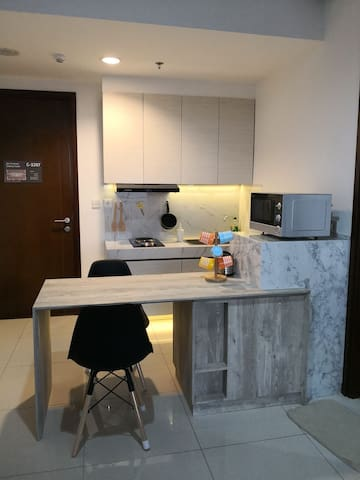 1BR modern, Full Furnish@M-town signature, Serpong