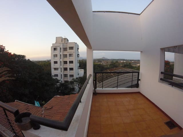 Master Bedroom (Scenic Penthouse) - Nashik - Apartment