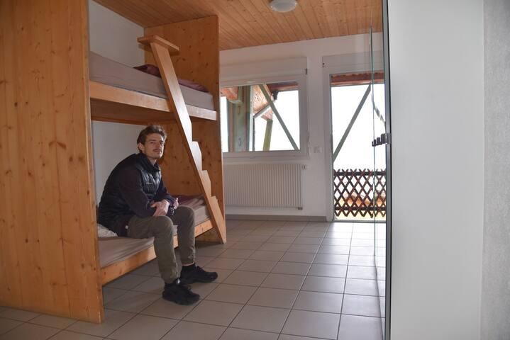 Chambre privée aux Portes du Soleil