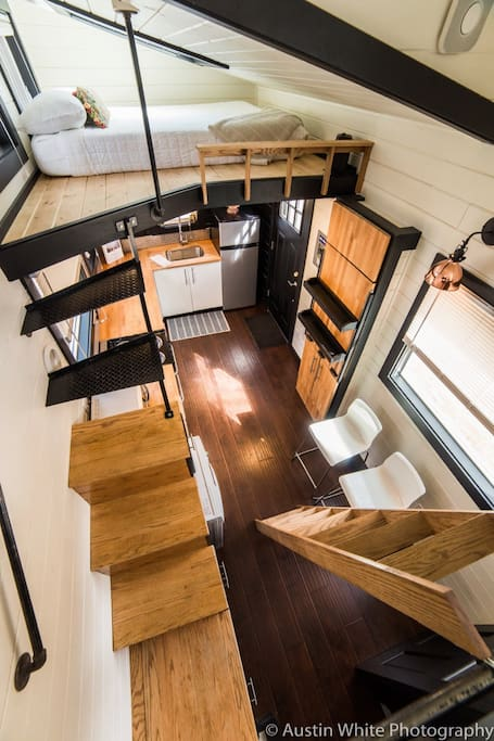 Your modern, uniquely designed Tiny House!
