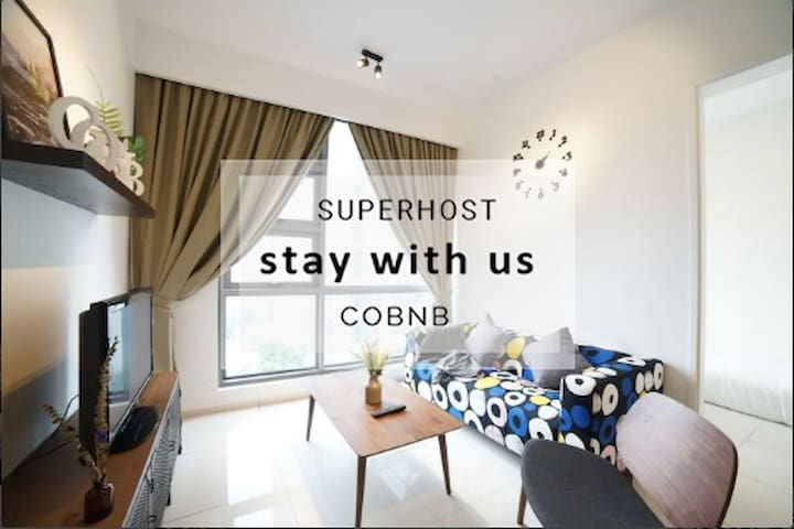 Insta Suites  w Sky Jacuzzi in Bukit Bintang #RB10