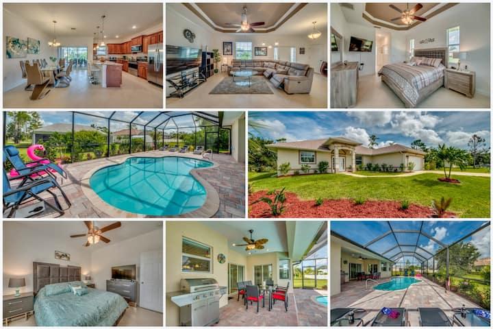NEW! Pool Villa VanillaSky for 2-8 Bonita Springs
