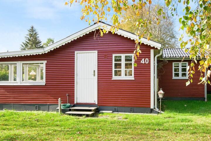 4 personas casa en Glesborg