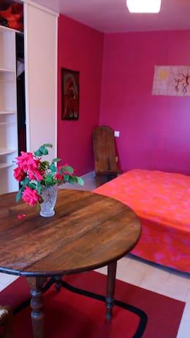 Chambre privée: Un havre de paix - Saint-Victor-sur-Avre - Casa