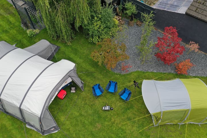 5 Man Vango 500 Air Tent Pick Up and Drop Off