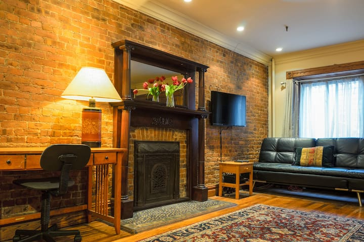 Classic Brownstone, a Private Studio Apartment