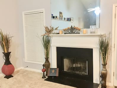 Awesome Private Room & Bath in Great Home - Lawrenceville - Hus