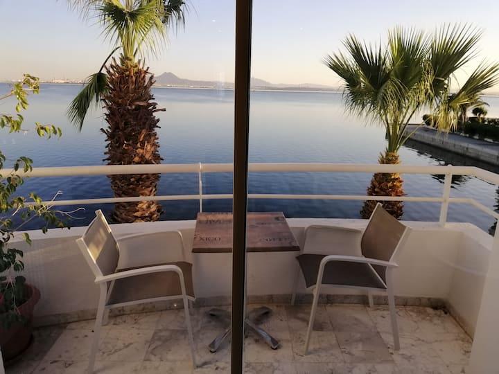 Charmant appart vue imprenable sur le lac de Tunis