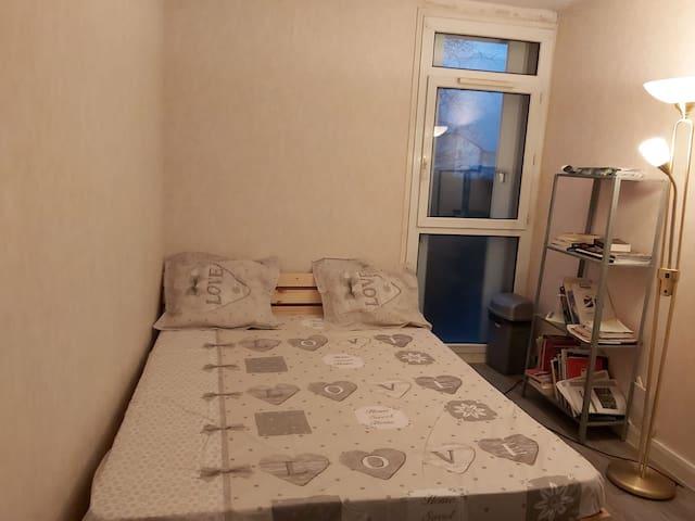 Chambre disponible à 10 mn de Paris