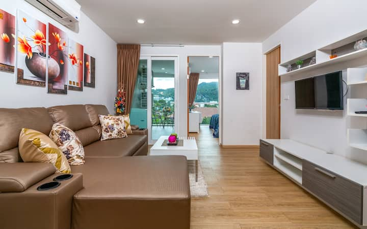 Great Mountain View 1 Bedroom Apartment@Kata -900m