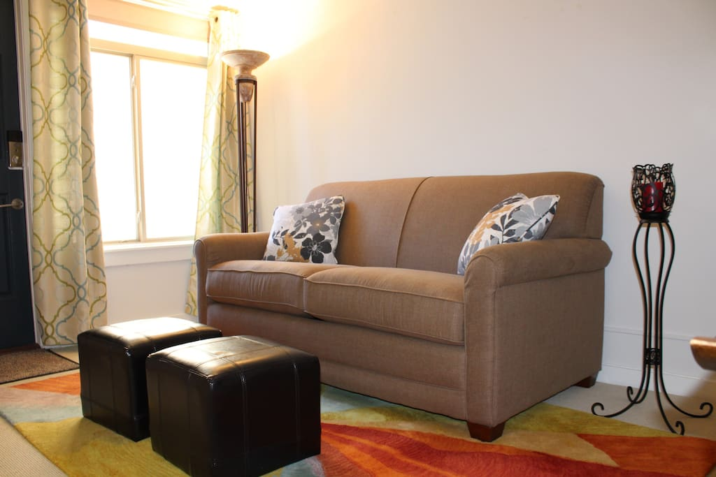 Double bed sofa