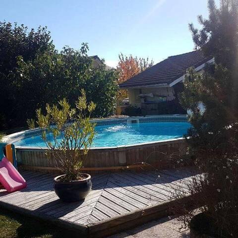 Magnifique villa avec piscine à Messery