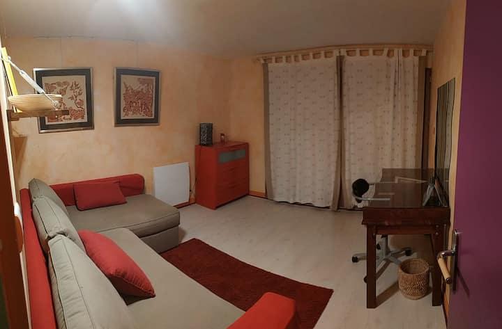 Chambre dans maison, calme & nature