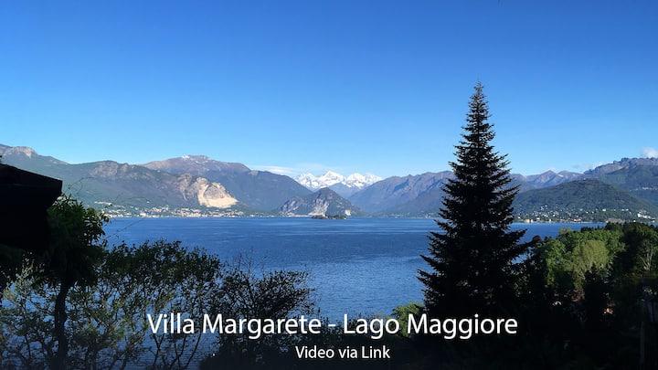Villa Margarete Lago Maggiore with panoramic view
