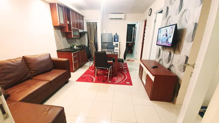 Family Suite 3BR in Kalibata City + Swimming Pool