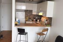Sunny cozy little apartement in Villeray