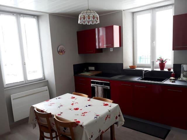 Appartement 2 pièces au centre ville de Pontarlier