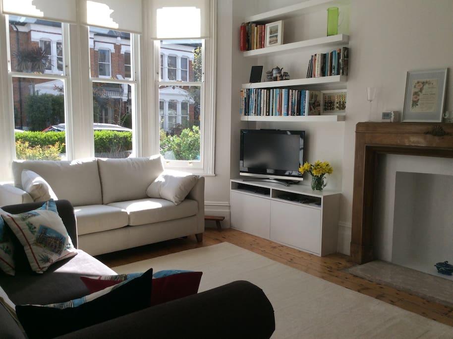 Lovely bright sitting room