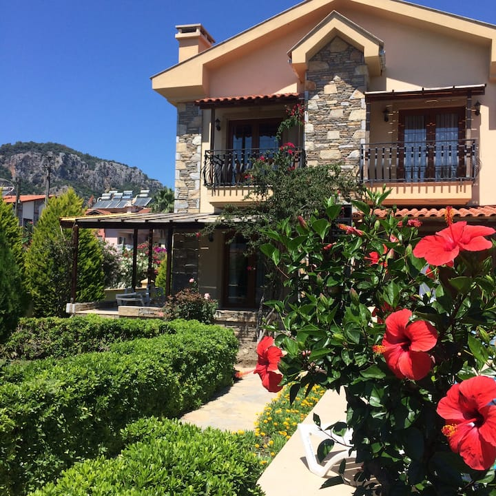 Beautiful 1st floor apartment in Dalyan