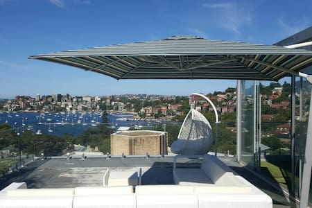 Penthouse with private rooftop - Darling Point