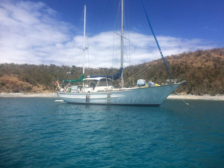 Caneel Bay 60' Sailboat, Two Berth Port Cabin